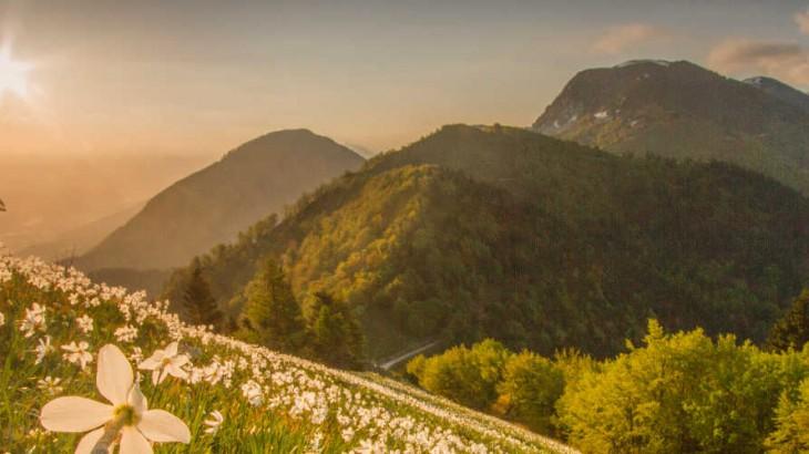 góry w Słowenii widziane oczami dziecka