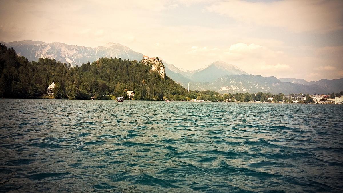 wybierze Jeziora Bled w Słowenii