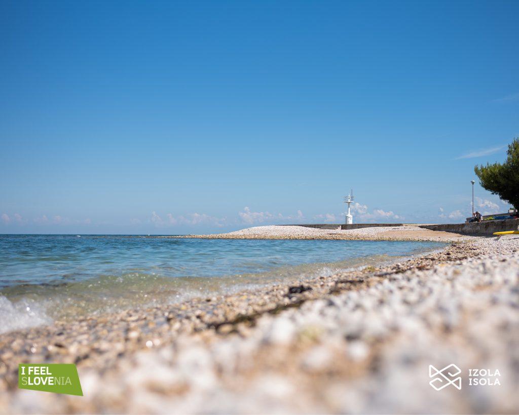 plaża w Izoli